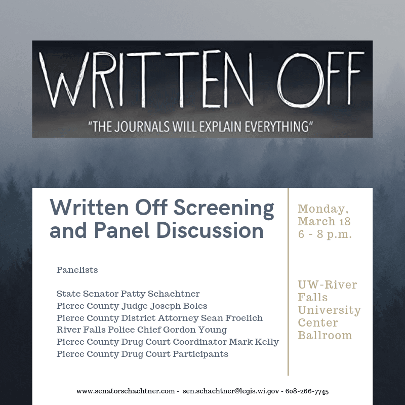 Written Off, Screening and Panel Discussion
