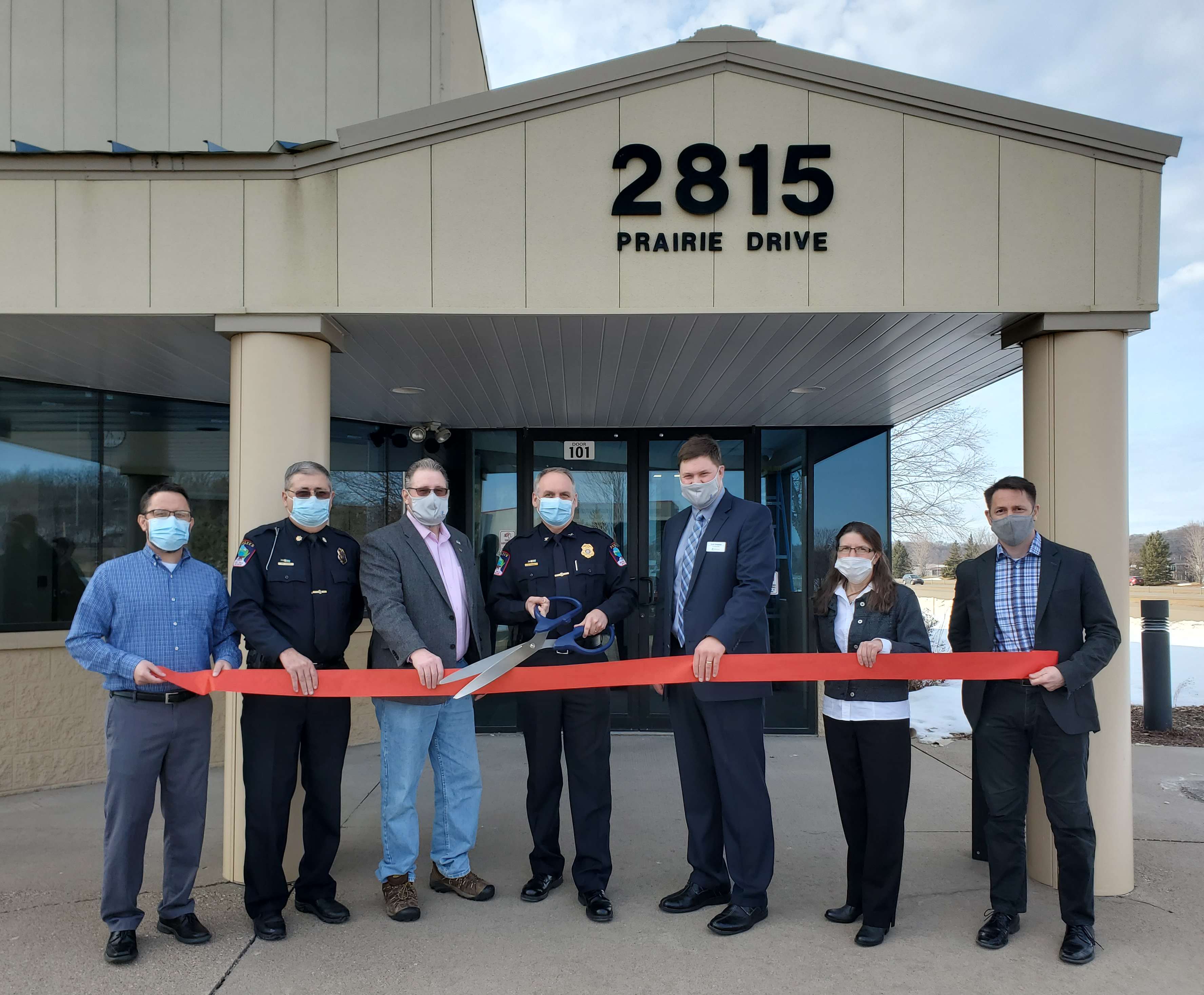 PD ribbon cutting 3.3.21
