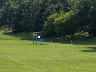 Golfview West Soccer Net