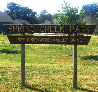 Spring Creek Park Sign