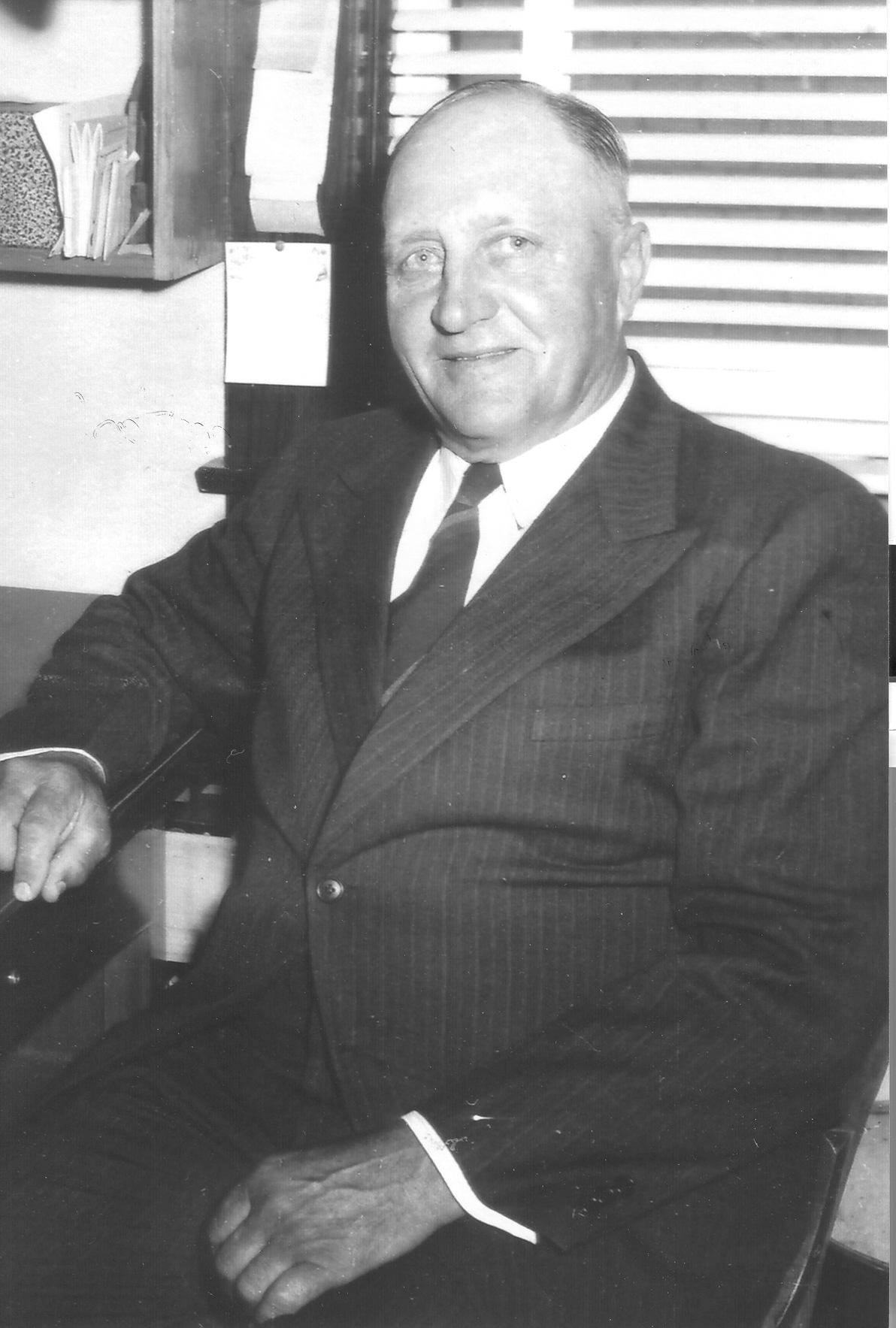 Mayor John M. Bartosh
